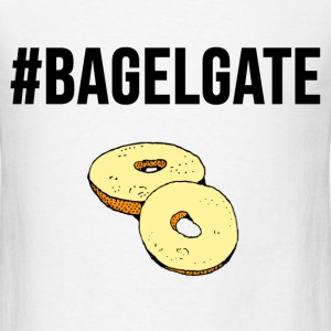 #Bagelgate Trending Graphic Fight Tee T-Shirts - Men's T-Shirt