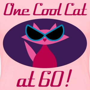 Cool Cat 60th Birthday - Women's Premium T-Shirt