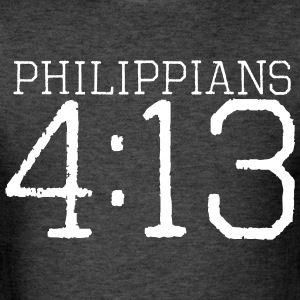 Philippians 4:13 t-shirt - Men's T-Shirt
