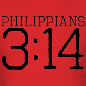 Philippians 3:14 t-shirt - Men's T-Shirt