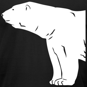 Polar Bear T-Shirts - Men's T-Shirt by American Apparel