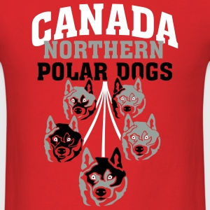 Canada Northern Poar Dogs T-Shirts - Men's T-Shirt