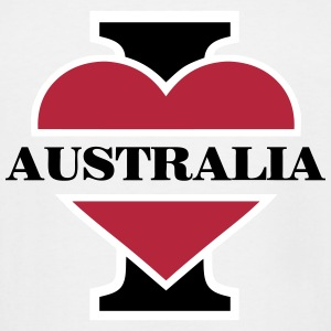 I love Australia T-Shirts - Men's Tall T-Shirt