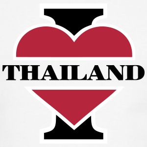 I love Thailand T-Shirts - Men's Ringer T-Shirt