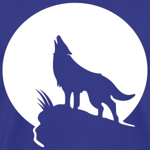 Wolf moon T-Shirts - Men's Premium T-Shirt