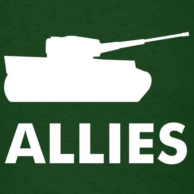 Allies tee with tank