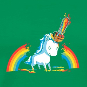 Pony rainbow cut - Men's Premium T-Shirt