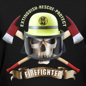 firefighter_skull_092016_c T-Shirts - Women's T-Shirt
