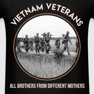 Vietnam Veteran - Vietnam Veterans, all brothers f - Men's T-Shirt