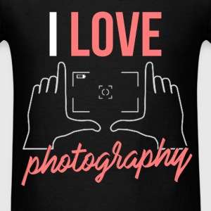 Photography - I love photography - Men's T-Shirt
