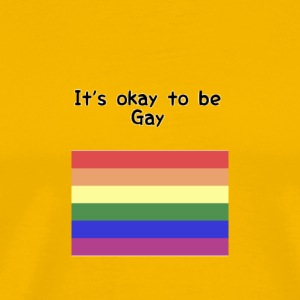 It's okay to be gay - Men's Premium T-Shirt