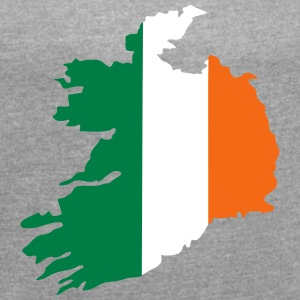 Ireland T-Shirts - Women´s Roll Cuff T-Shirt
