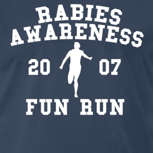 Rabies Awareness Fun Run T-Shirts - Men's Premium T-Shirt