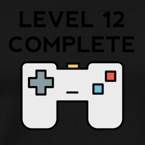 Level 12 Complete 12th Birthday - Men's Premium T-Shirt
