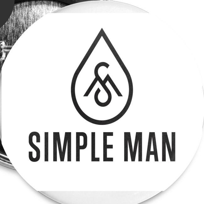 Simple Man Logo Button