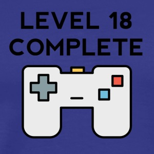 Level 18 Complete 18th Birthday - Men's Premium T-Shirt