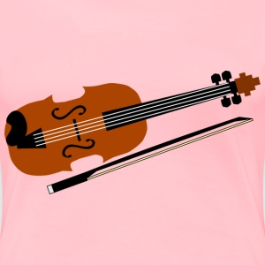 Violin - Women's Premium T-Shirt