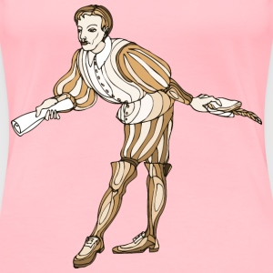 Shakespeare characters courier - Women's Premium T-Shirt