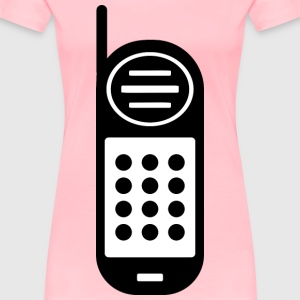 Cellphone Icon Redrawn - Women's Premium T-Shirt