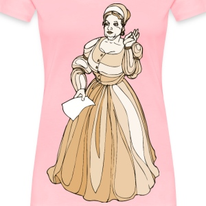 Shakespeare characters Margaret Page - Women's Premium T-Shirt