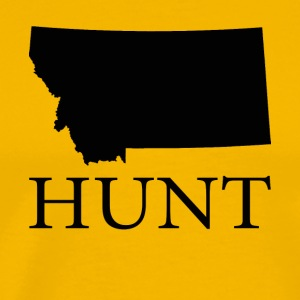 Hunt Montana - Men's Premium T-Shirt