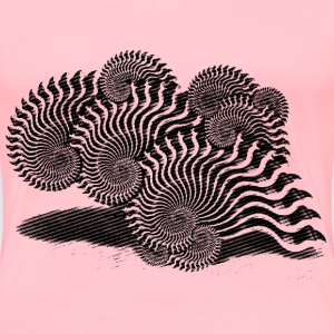 snail shell - Women's Premium T-Shirt