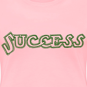 Success Text - Women's Premium T-Shirt