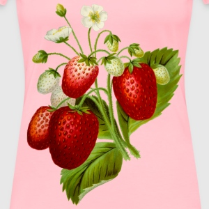Strawberries 2 - Women's Premium T-Shirt