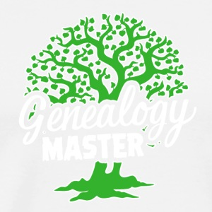 Genealogy Master Tee Shirt - Men's Premium T-Shirt
