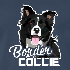 Border Collie Tee Shirt - Men's Premium T-Shirt