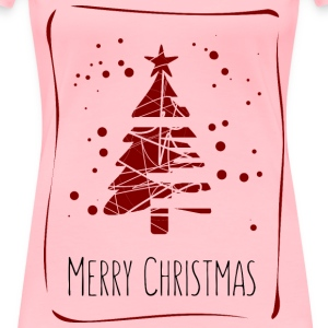 christmas card design - Women's Premium T-Shirt