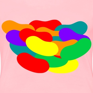 Pile of Jelly Beans - Women's Premium T-Shirt