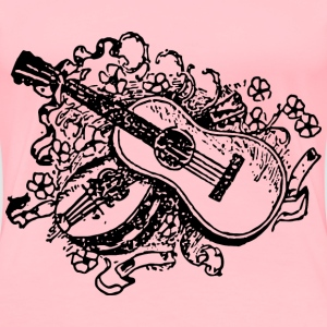 Simple Guitars - Women's Premium T-Shirt