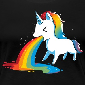 where rainbows pony - Women's Premium T-Shirt