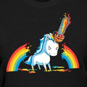 Pony rainbow - Women's T-Shirt