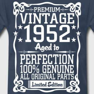 Premium Vintage 1952 Aged To Perfection 100% Genui T-Shirts - Men's Premium T-Shirt