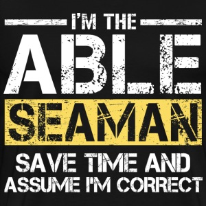 Able Seaman T-Shirts - Men's Premium T-Shirt