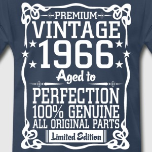 Premium Vintage 1966 Aged To Perfection 100% Genui T-Shirts - Men's Premium T-Shirt
