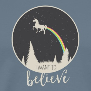 I want to believe - Men's Premium T-Shirt