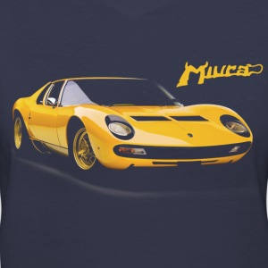 giallo miura T-Shirts - Women's V-Neck T-Shirt