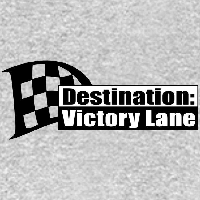 Destination: Victory Lane Logo front/back T