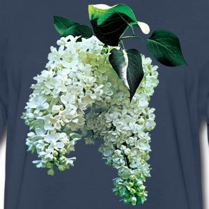 White Lilacs Long Sleeve Shirts - Men's Premium Long Sleeve T-Shirt