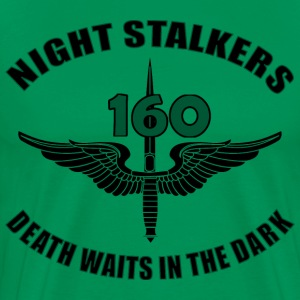 160th SOAR - Death Waits - Men's Premium T-Shirt