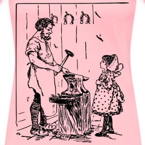 Blacksmith Father - Women's Premium T-Shirt