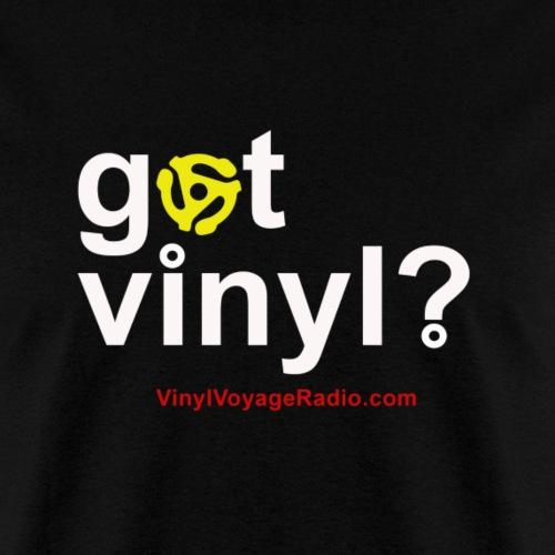 Got Vinyl w/Adapter-White