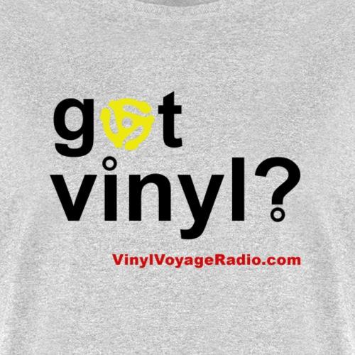 Got Vinyl 45 rmp Black