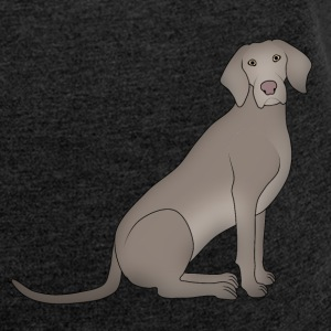 Weimaraner 3 T-Shirts - Women´s Rolled Sleeve Boxy T-Shirt