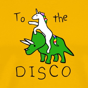 Pony Rhino disco party - Men's Premium T-Shirt