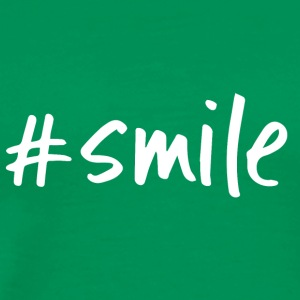 #smile - Men's Premium T-Shirt