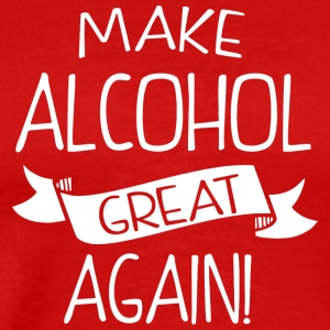Make alcohol great again - Men's Premium T-Shirt